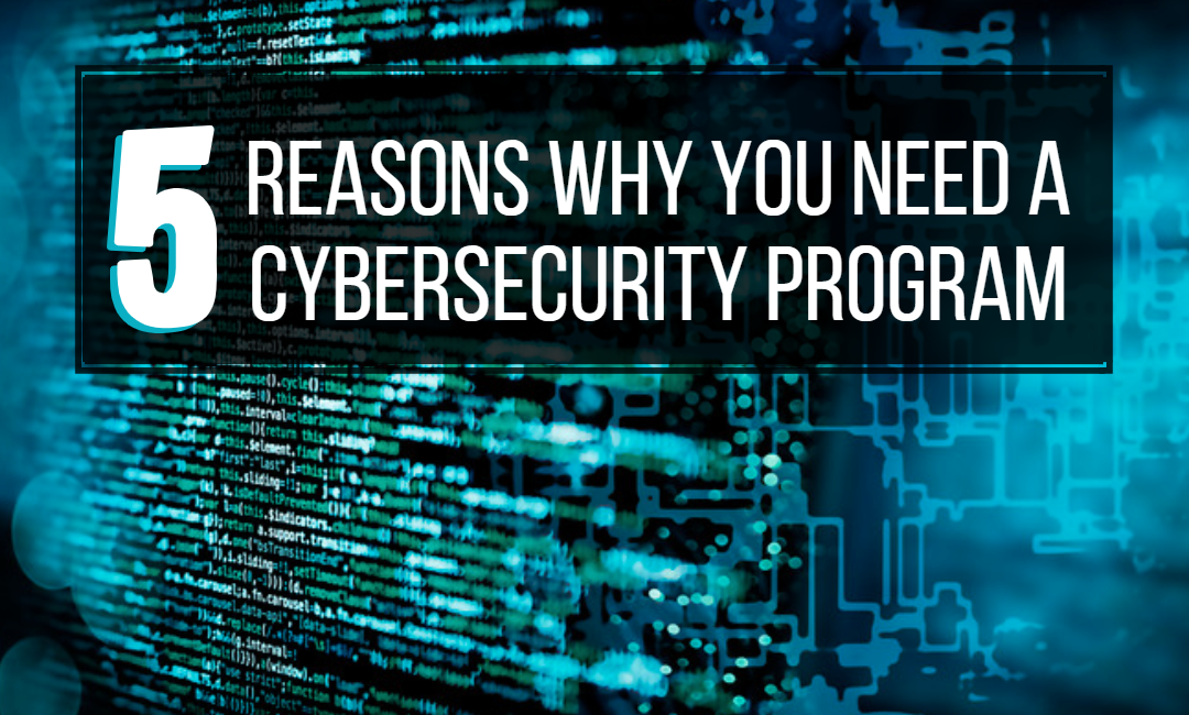 5 Reasons Why You Need a Cybersecurity Program