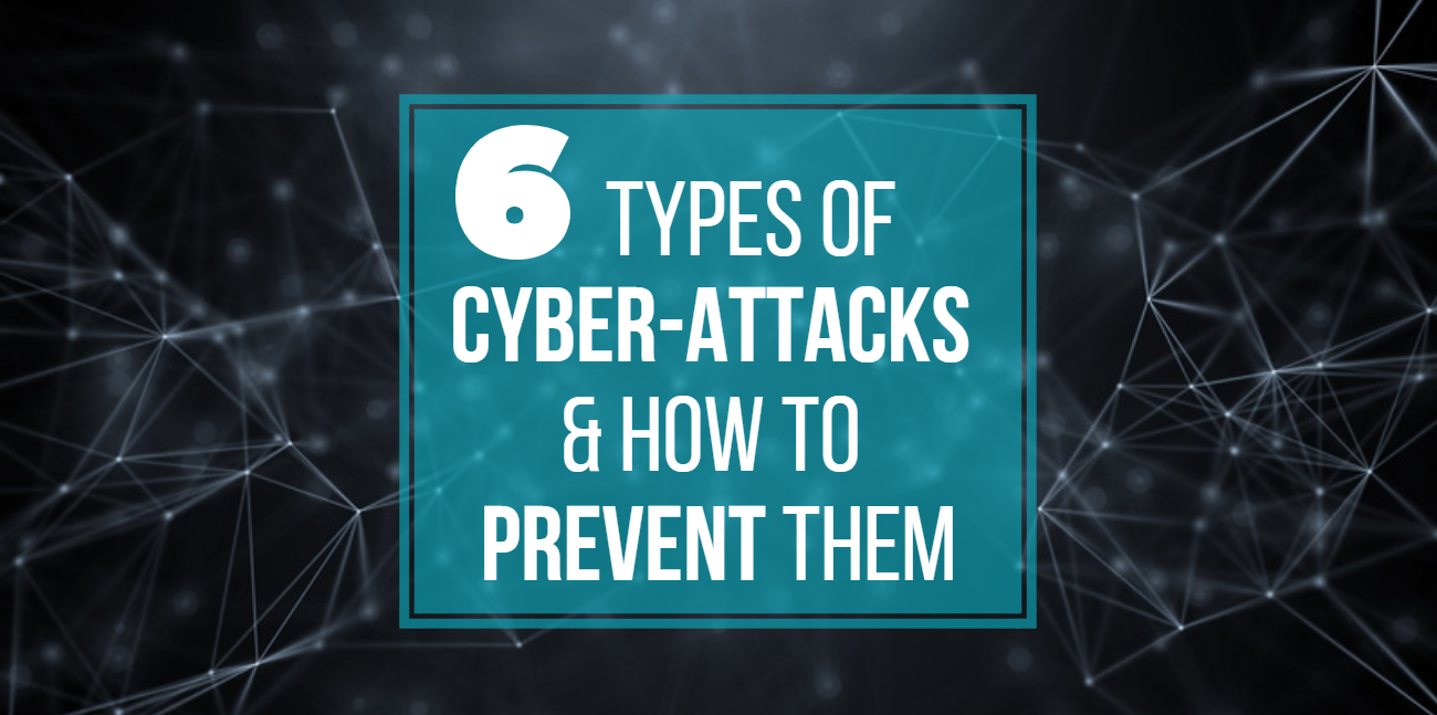 6 Types of Cyber-Attacks and How to Prevent Them