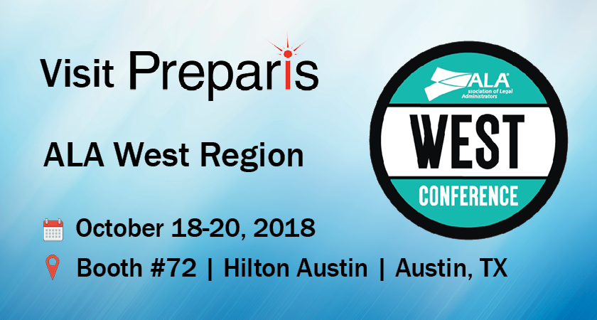 Preparis to Exhibit at ALA West Region Conference in Austin, TX