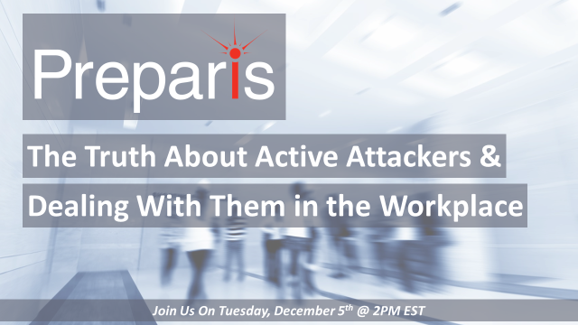 The Truth About Active Attackers & Dealing With Them in the Workplace – Webinar