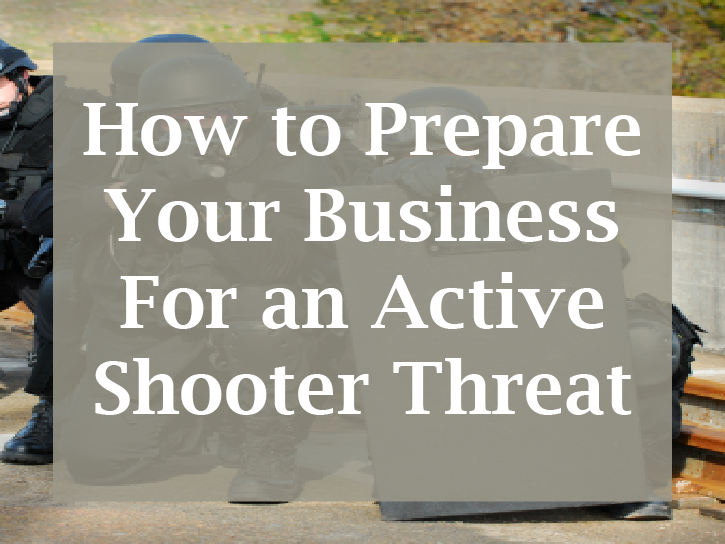 Preparing for an Active Shooter