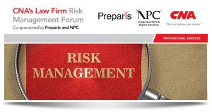 Preparis CEO Speaks at CNA's Law Firm Risk Management Forum