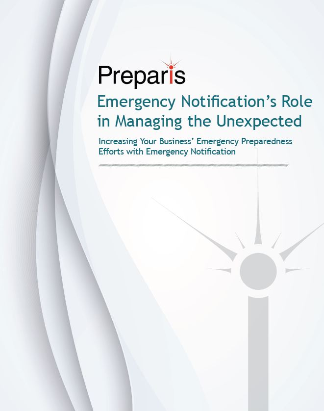 Emergency Notification's Role in Managing the Unexpected