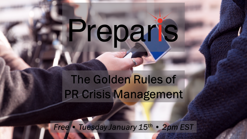 The Golden Rules of PR Crisis Management