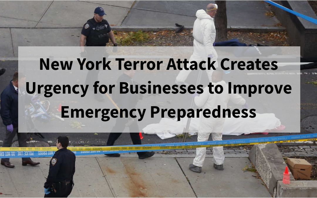 New York Terror Attack Creates Urgency for Emergency Preparedness