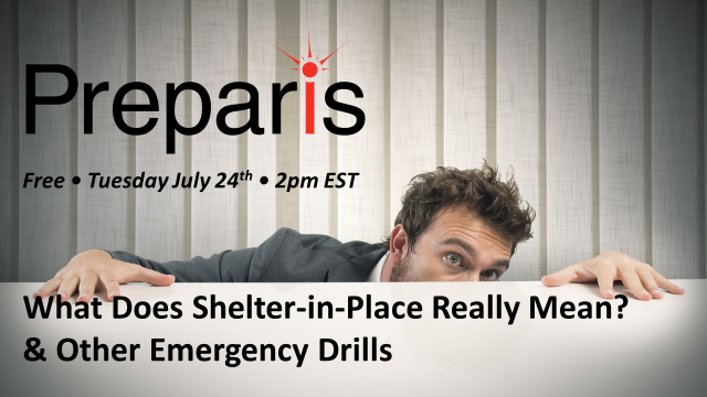 What Does Shelter-in-Place Really Mean?