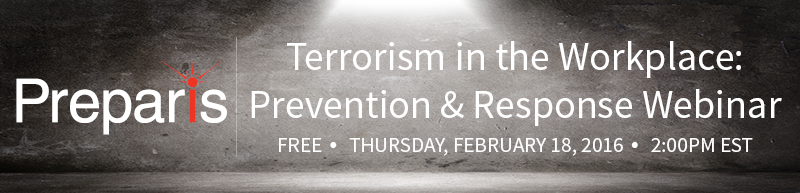 Terrorism in the Workplace: Prevention and Response Webinar