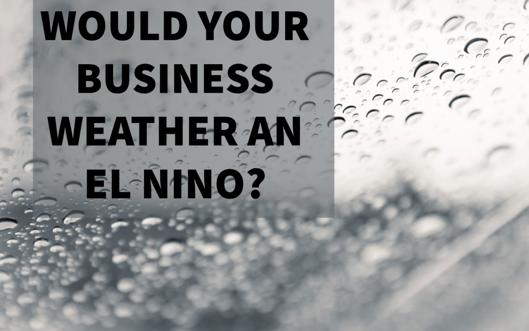 7 Ways to Prepare Your Business for El Niño