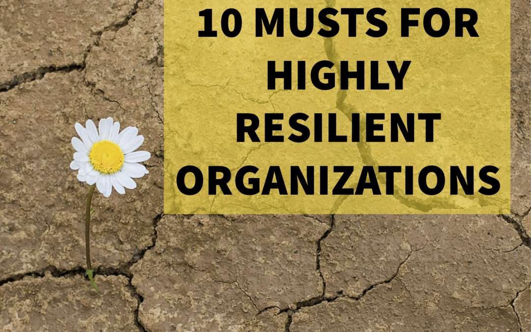 The 10 Habits of Highly Resilient Organizations